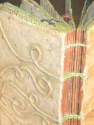 Detail of Artists' Book by Jody Alexander