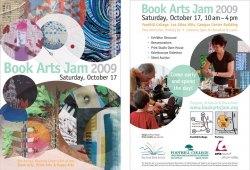 2009 Book Arts Jam Postcard