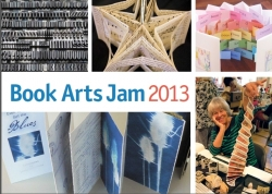 2013 Book Arts Jam Postcard