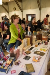 Vendors exhibit - Book Arts Jam 2013