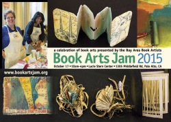 2015 Book Arts Jam Postcard