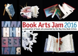 2016 Book Arts Jam postcard
