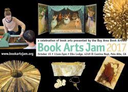 2017 Book Arts Jam Postcard