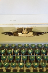 Poetry On Demand Typewriter - Claire Tompkins