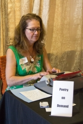 Poetry On Demand by Claire Tompkins