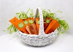 Seven Carrots in a Market Basket - Lorraine Crowder