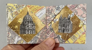 Kit-Davey-Golden-Architecture-View-2-Origami-Frame-Accordion-Book