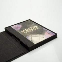 Don Drake - Box for Cari Ferraro's 'Spelling Words'