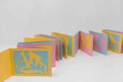 Insiya Dhatt - Alphabet & Animal cut out accordion book