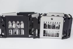 Insiya Dhatt - Accordion Book Buildings