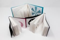 Insiya Dhatt - Cut out flip books