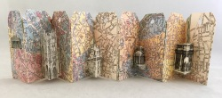 Kit Davey - Accordion Tag Book of Buildings