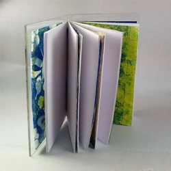 Ruth Dailey - Acrylic Cover Journal-inside