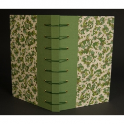 Sally Cole - Belgium Secret Binding with Florentine paper
