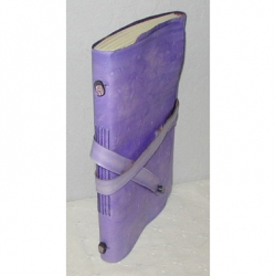 Sally Cole - Purple (faux) Leather