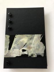 Sue Comporato - Black Glass Buttons Journal - 2020